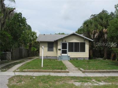 Hernando County, Hillsborough County, Pasco County, Pinellas County Single Family Home For Sale: 1827 Quincy Street S