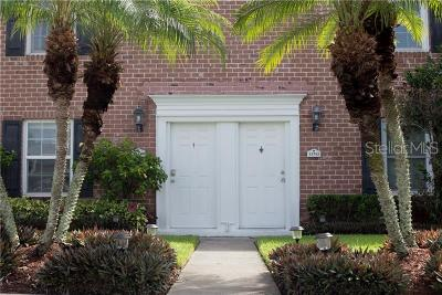 Hillsborough County Townhouse For Sale: 13740 Orange Sunset Drive