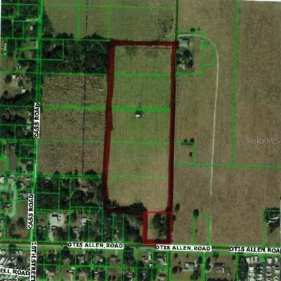 Residential Lots & Land For Sale: 38955 Otis Allen Road