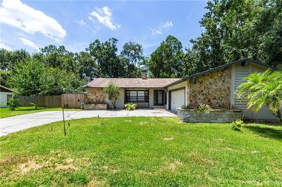 Lutz Single Family Home For Sale: 2511 High Oaks Lane