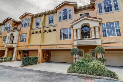 Tarpon Springs Townhouse For Sale: 1466 Manatee Circle