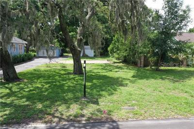 Hernando County, Hillsborough County, Pasco County, Pinellas County Residential Lots & Land For Sale: 1207 E McBerry Street