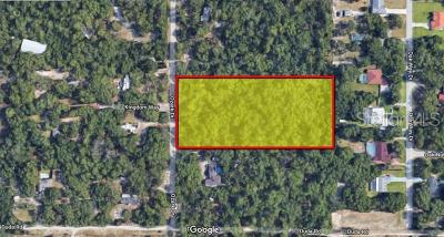 Hernando County, Hillsborough County, Pasco County, Pinellas County Residential Lots & Land For Sale: Ozark Drive Ozark Drive