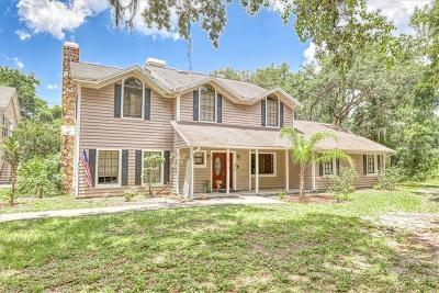 Hillsborough County Single Family Home For Sale: 10219 Cone Grove Road