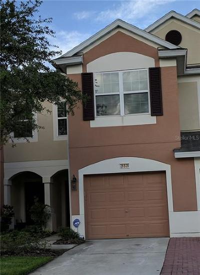 Wesley Chapel Townhouse For Sale: 26526 Chimney Spire Lane