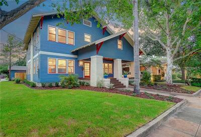 Tampa Single Family Home For Sale: 1917 W Dekle Avenue