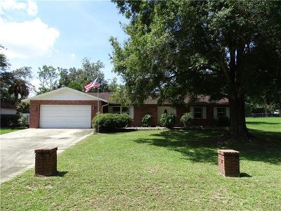 Dade City Single Family Home For Sale: 37320 Hickory Hill Lane