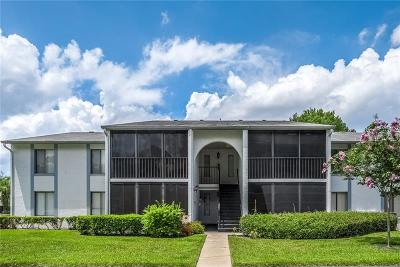 Tarpon Springs Condo For Sale: 1261 Pine Ridge Circle W #D2