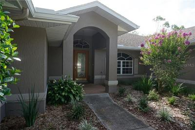 Weeki Wachee Single Family Home For Sale: 5197 Churchill Way
