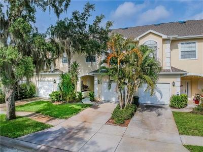 Palm Harbor Townhouse For Auction: 3441 Fox Hunt Drive
