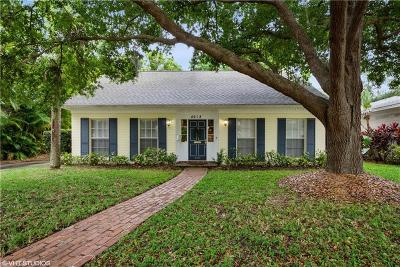 Tampa Single Family Home For Sale: 4618 W Beach Park Drive