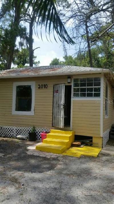 Single Family Home For Sale: 2010 Flagler Street