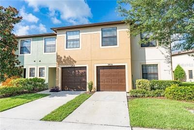 Hillsborough County Townhouse For Sale: 2416 Hibiscus Bay Lane