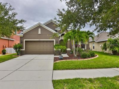 Ruskin Single Family Home For Sale: 1855 Mira Lago Circle