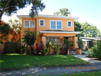 Pinellas County Single Family Home For Sale: 4742 9th Avenue S