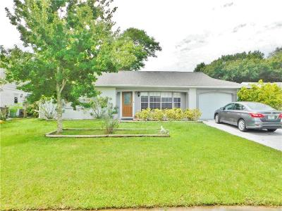 New Port Richey Single Family Home For Sale: 3640 Sail Drive