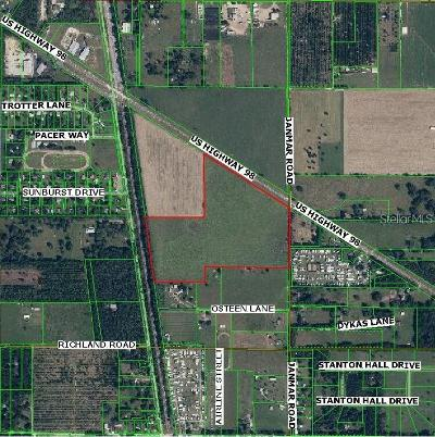 Dade City, San Antonio Residential Lots & Land For Sale: Highway 98