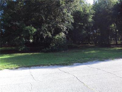 Plant City Residential Lots & Land For Sale: Joe Sanchez Road