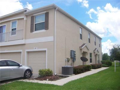 Plant City Townhouse For Sale: 737 Ashentree Drive