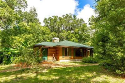 Dade City Single Family Home For Sale: 17217 Sweetwater Road