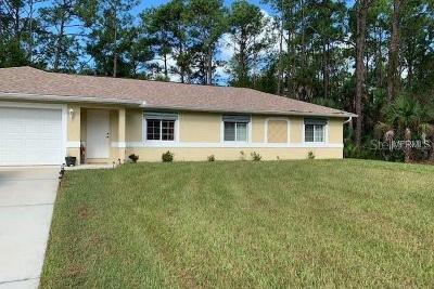 North Port Single Family Home For Sale: 5329 Citron Road