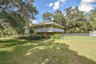 Riverview Single Family Home For Sale: 9404 Carr Road