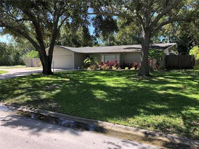 Clearwater Single Family Home For Sale: 1889 Oak Park Drive N