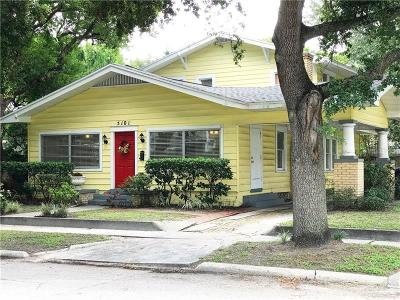 Seminole Heights Single Family Home For Sale: 5101 N Seminole Avenue