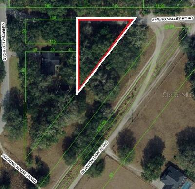 Dade City, San Antonio Residential Lots & Land For Sale: 17465 Spring Valley Road