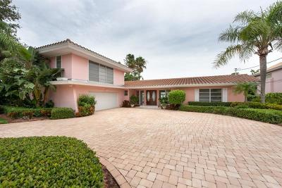 Clearwater Single Family Home For Sale: 107 Windward Island
