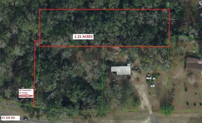 Dade City, San Antonio Residential Lots & Land For Sale: 0 Saint Joe Road