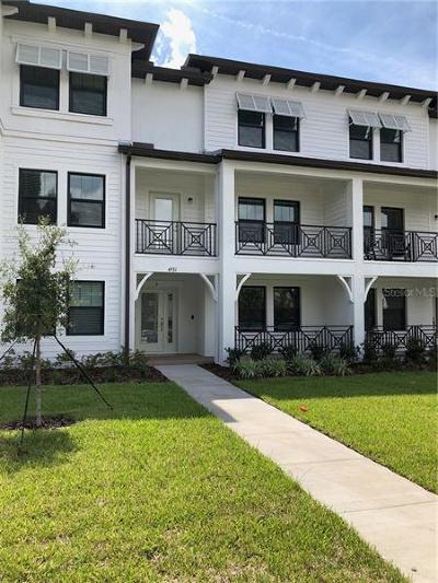 Tampa Townhouse For Sale: 4931 W Paul Avenue #6