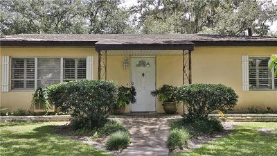 Temple Terrace Single Family Home For Sale: 115 Ridgedale Road