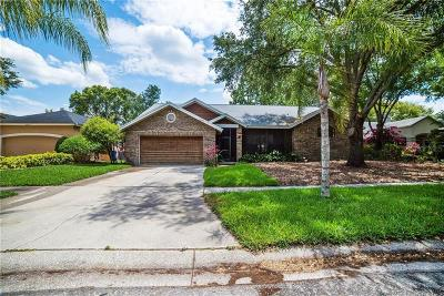 Lutz Single Family Home For Sale: 16603 Longleat Drive