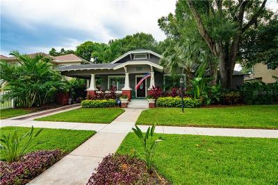 Tampa Single Family Home For Sale: 3621 W San Pedro Street