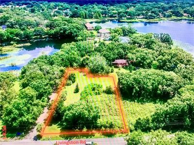 Lutz Residential Lots & Land For Sale: Livingston Road