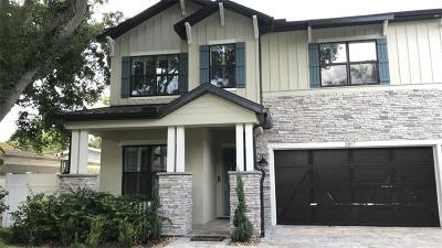 Tampa Single Family Home For Sale: 3817 W Angeles Street