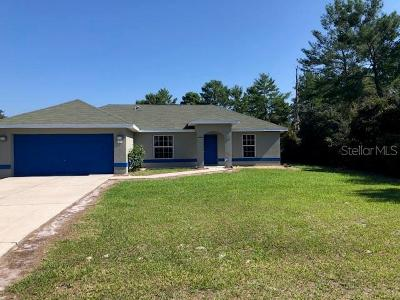 Ocklawaha Single Family Home For Sale: 7 Fisher Loop Pass