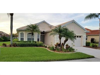 North Port Single Family Home For Sale: 3839 Whispering Oaks Drive