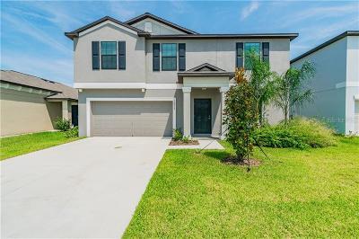 Wimauma Single Family Home For Sale: 14809 Crescent Rock Drive
