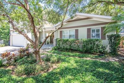 Tampa Single Family Home For Sale: 3608 S Himes Avenue