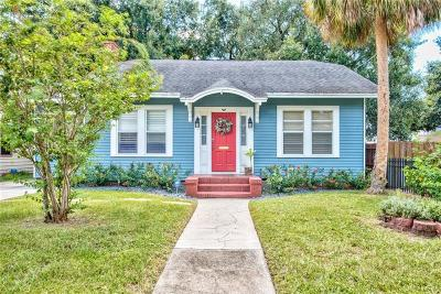 Tampa Single Family Home For Sale: 2912 W Aquilla Street