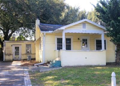 Tampa Single Family Home For Sale: 3218 W Cherokee Avenue