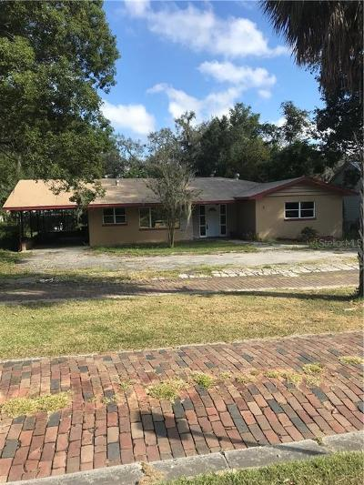 Dade City Single Family Home For Sale: 37933 Howard Avenue