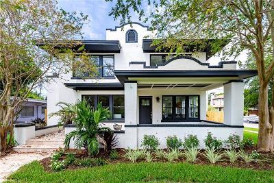 St Petersburg Single Family Home For Sale: 655 15th Avenue NE