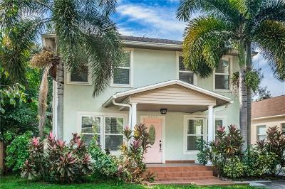 Hillsborough County, Pasco County, Pinellas County Single Family Home For Sale: 6017 S 2ND STREET