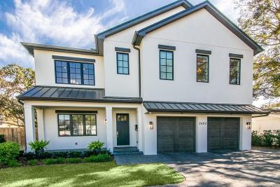 Tampa Single Family Home For Sale: 2402 W PARKLAND BOULEVARD