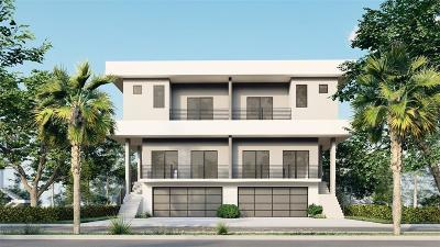 Tampa Townhouse For Sale: 2605 W CLEVELAND STREET #A
