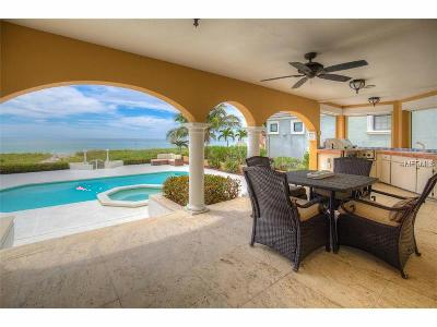 Redington Beach Single Family Home For Sale: 15540 Gulf Boulevard