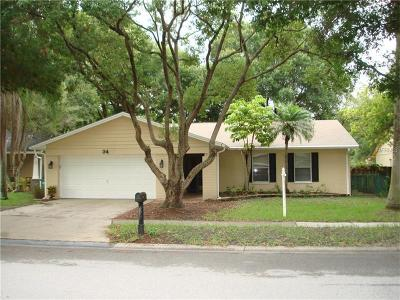 Safety Harbor Single Family Home For Sale: 34 Harbor Lake Circle